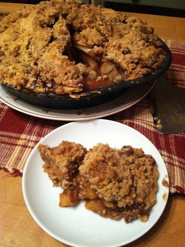 Apple pie goodness