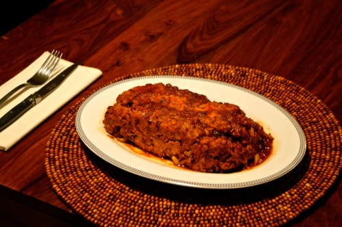 Roasted Shallot & Garlic Turkey Meatloaf