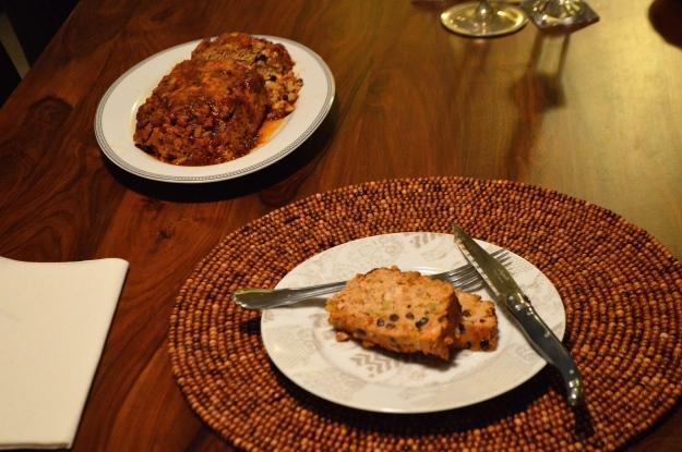 Roasted Shallot & Garlic Turkey Meatloaf